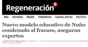 Nuevo modelo educativo de Nuño condenado al fracaso, aseguran expertos