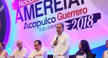 El subdirector de Seguimiento Institucional de la DGEI, Javier Lozano, participa en el AMEREIAF 2018