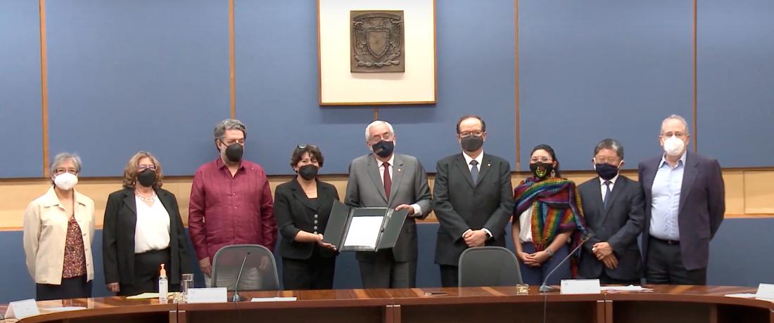 Firma de convenio UNAM-SEP (SIIES)