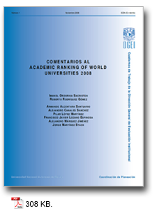 Comentarios al Academic Ranking of World Universities 2008